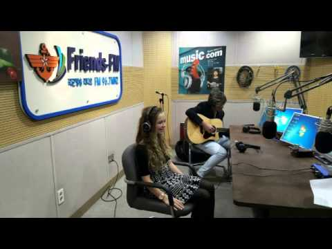 Connie Talbot and Jordan Jansen FriendsFM South Korea