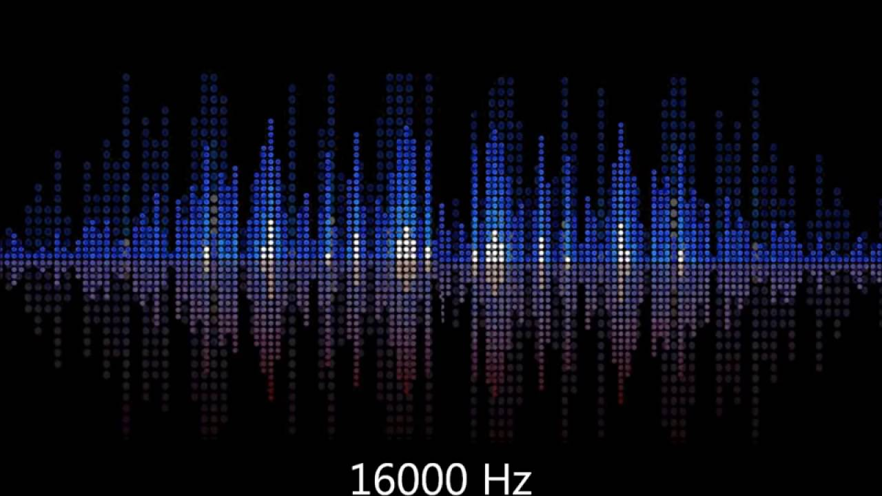 Test your hearing 16000 Hz whistle