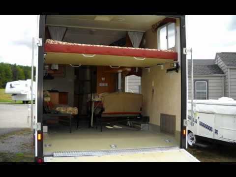 2005 Jayco T24e Octane Toy Hauler Travel Trailer Youtube