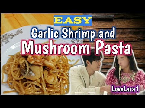 Diy Garlic Shrimp And Mushroom Pasta Pizza Hut Inspired Recipe Simple Cooking Pasta Lover Youtube