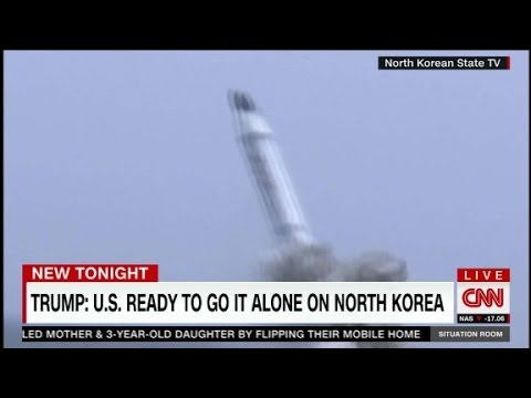 Trump: We'll solve North Korea ourselves