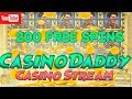 CasinoDaddy play casino online at stream now!