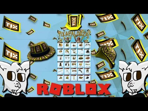 Looking Back At Some Old Rare Tix Items In Roblox!!!