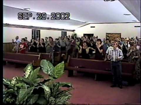 Morgantown Church of God -- Delean Pearson at Piano - Keep On The Firing Line -- 2002