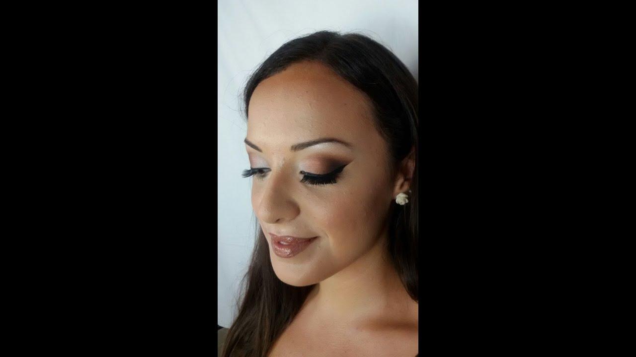 Outdoor Wedding Makeup Tutorial : Wedding Make-Up Tutorial #Laura - YouTube