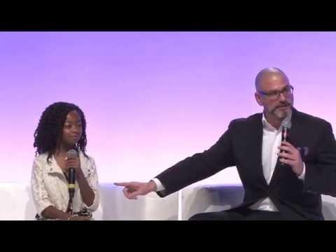 Premiere Event CEO Michael David Palance interviews Skai Jackson and Kiya Cole