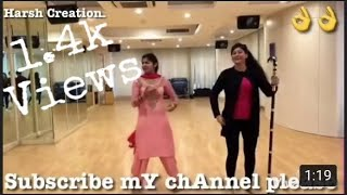Pinda aale jatt Bhangra Dance Latest punjabi new song performance Nice || Harsh creation ||