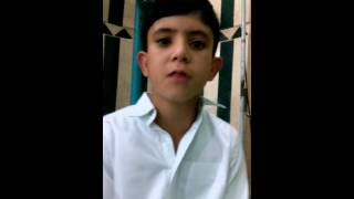 بالفيديو.. خليفة «الطبلاوي»  يُبدع في  الحادية عشر من عمره