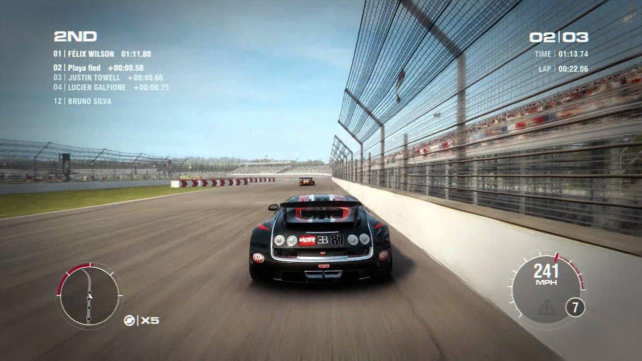 Grid 2 | Bugatti Veyron Super Sport - YouTube