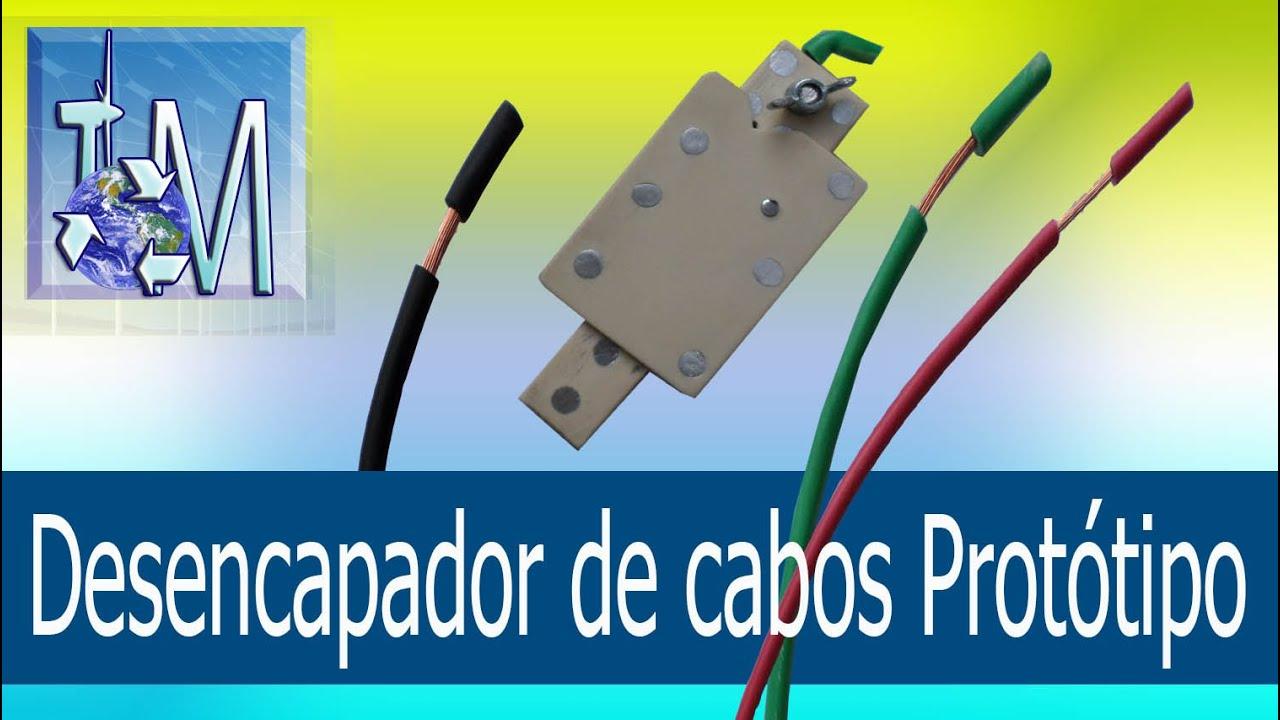 Download Desencapador de cabos protótipo I