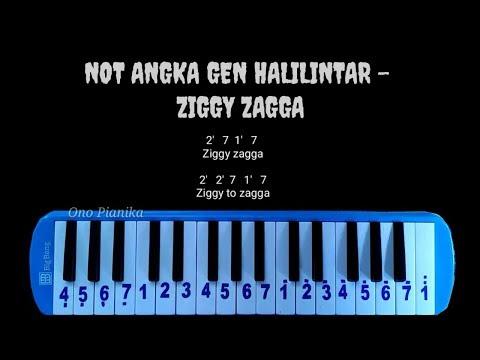 Not Pianika Gen Halilintar - Ziggy Zagga