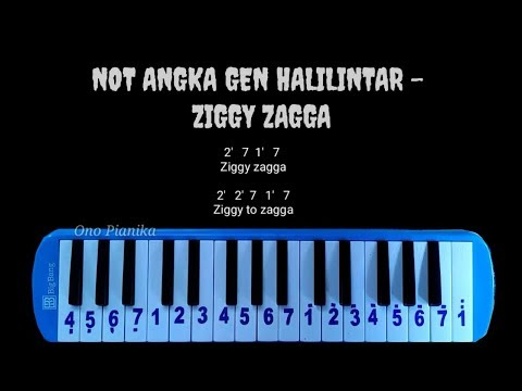 Not Pianika Gen Halilintar - Ziggy Zagga