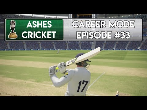 THE ANCHOR INNINGS - Ashes Cricket Career Mode #33