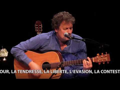Bernard Degavre chante Georges Moustaki - teaser officiel