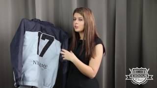 Exodus Wear Custom Windbreaker Jacket Presentation