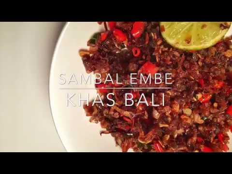 Sambal Embe Bali