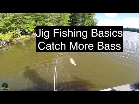 How to Fish a Jig - Bass Fishing