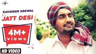New Punjabi Songs 2013 | Jatt Desi | Ravinder Grewal | FULL HD Latest New Punjabi Songs