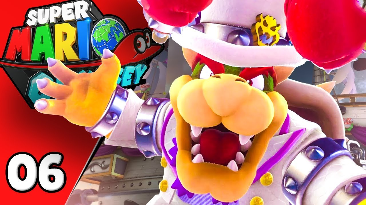 Bowser Nous Barre La Route Super Mario Odyssey 06