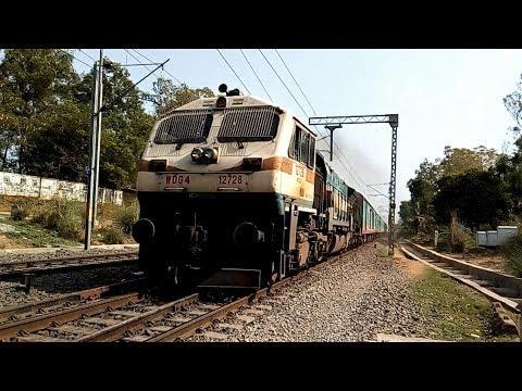 Bangalore Agartala Humsafar Express hits top speed