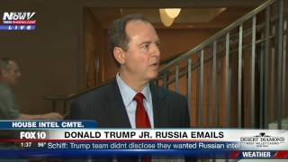 MAJOR: Rep. Schiff (House Intel Committee) Speaks Out on Donald Trump Jr Russia Meeting Emails (FNN)