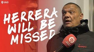 SHAME TO SEE HERRERA GO... Man Utd 1-1 Chelsea Fan Cams