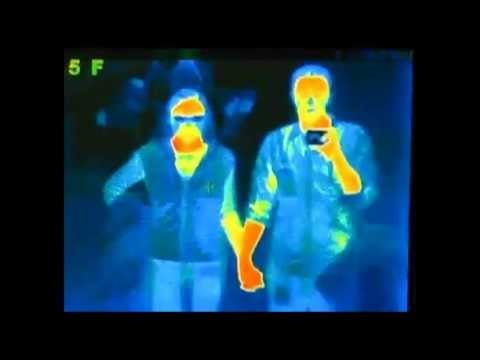 What do you look like under a heat sensing camera? You'll be ...