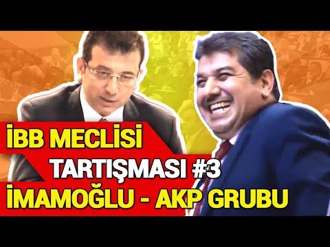 İBB Meclisinde Tartışma - İmamoğlu - AKP Grubu Tartışması - İBB Borç