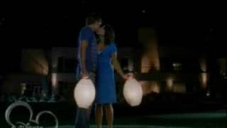 hsm2-troy & gabriella first kiss