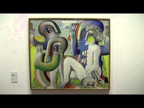 Antes  Malerei 1958   2010   Retrospektive von Horst Antes im Martin Gropius Bau, Berlin