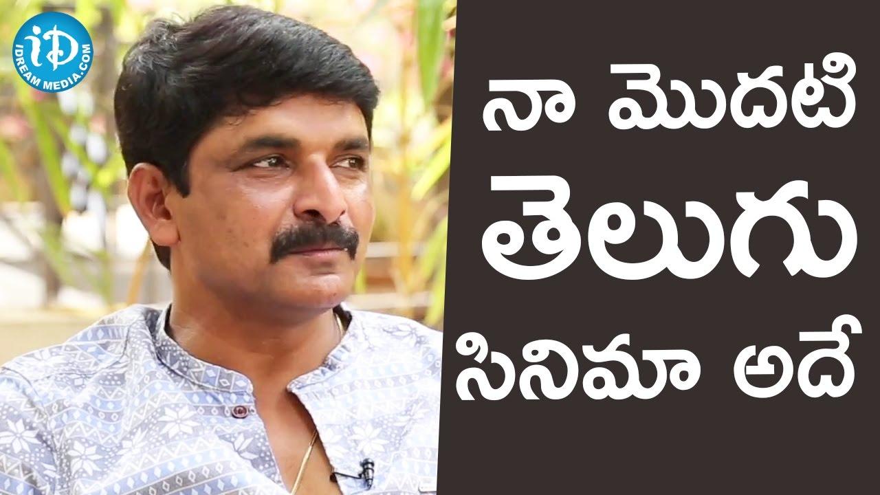 Prasad Murella That Was My First Telugu film Cinematographer Prasad Murella 24