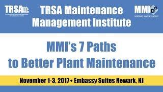 MMI - 7 Paths to Better Plant Maintenance