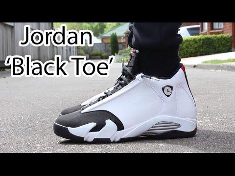 jordan retro 14 black toe