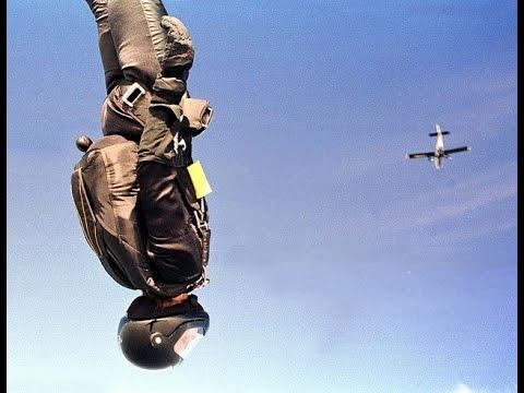 Extreme US Army Skydiving manoeuvres - Экстремальный скайдайвинг армии США