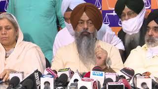 Harmeet Singh Kalka -President, Siromani Akali Dal Delhi announce all ties snapped with BJP led NDA.