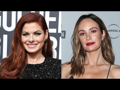 Debra Messing & Celebs SLAM Network For Pay Inequality At 2018 Golden Globes