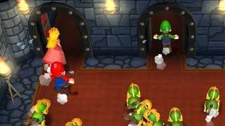 Mario Party 9 - Minigames - Mario vs Peach vs Daisy vs Luigi