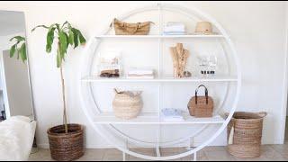 Decluttering + Organizing Shelves   Minimalist Monday