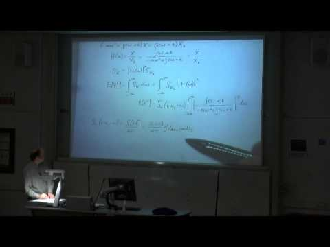 Dynamics, Noise & Vibration - Ch. 10 - Power Spectral Density Example