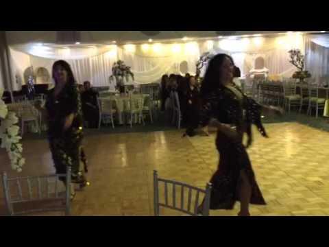 Folk dancers at Babylon palace 2