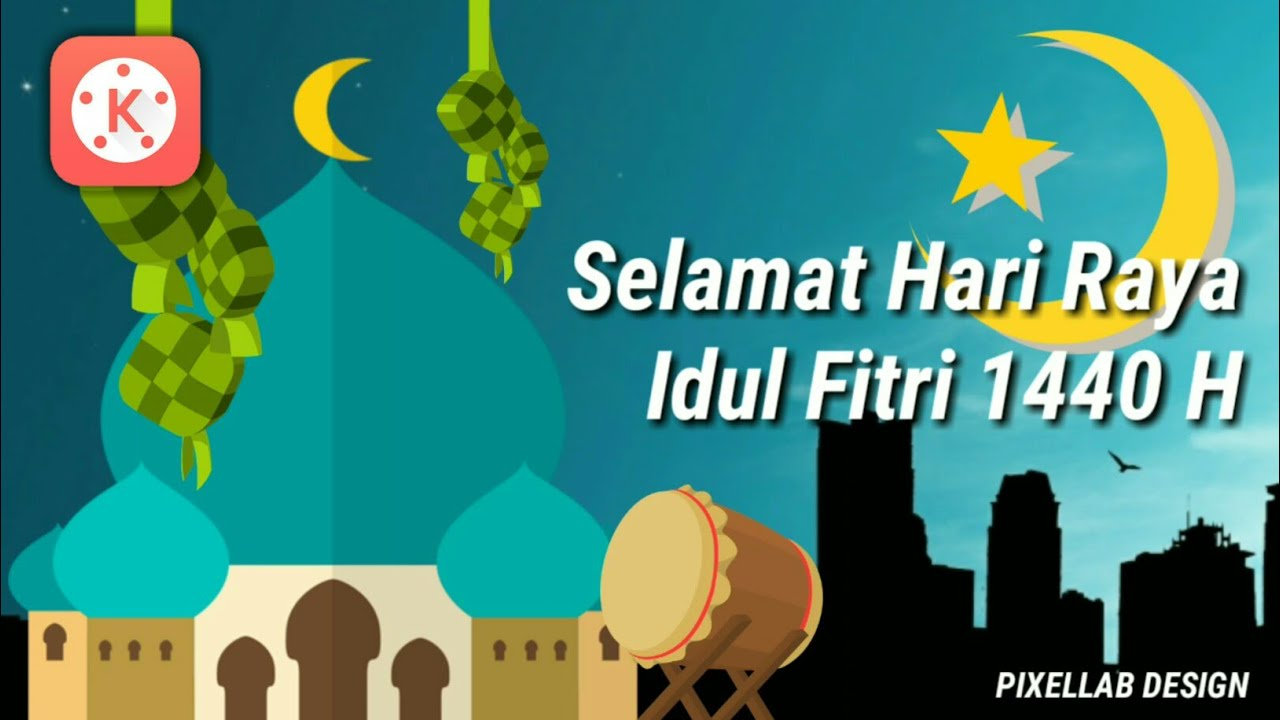 Tutorial Membuat Video Ucapan Lebaran Selamat Idul Fitri 2019