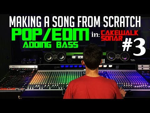 Making A Pop/EDM Song From Scratch - #3 Bass