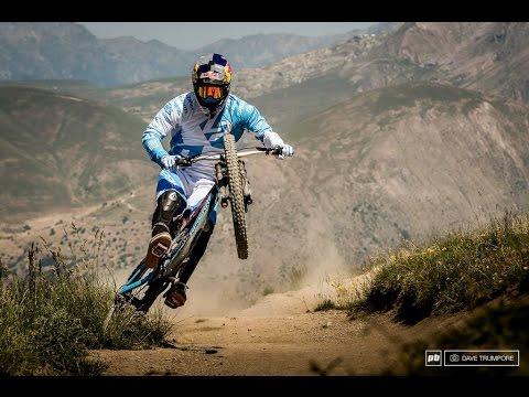 The Beauty of Mountain Bike Slowmotion