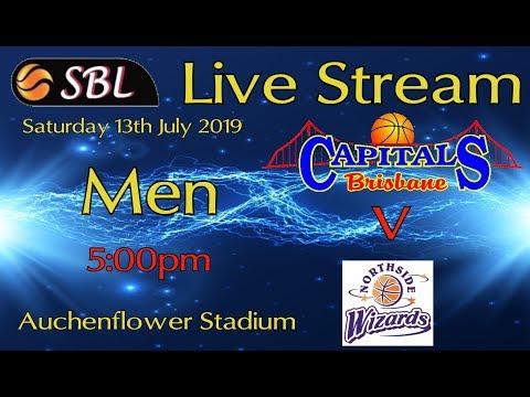Brisbane Capitals V Northside Wizards (SBL Men)