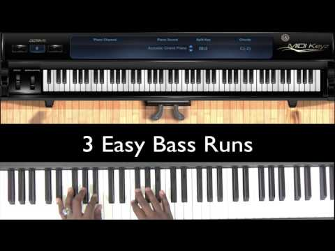 3 Easy Bass Runs in Eb