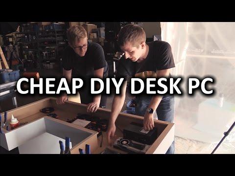 Ultimate DIY Desk PC - Desk Construction