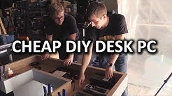 Ultimate DIY Desk PC - Desk Construction