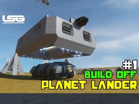 Space Engineers - Planet Landers Build Off #1