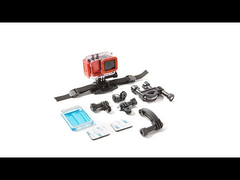 Sharper Image 4k Wireless Action Camera Waccessories Youtube