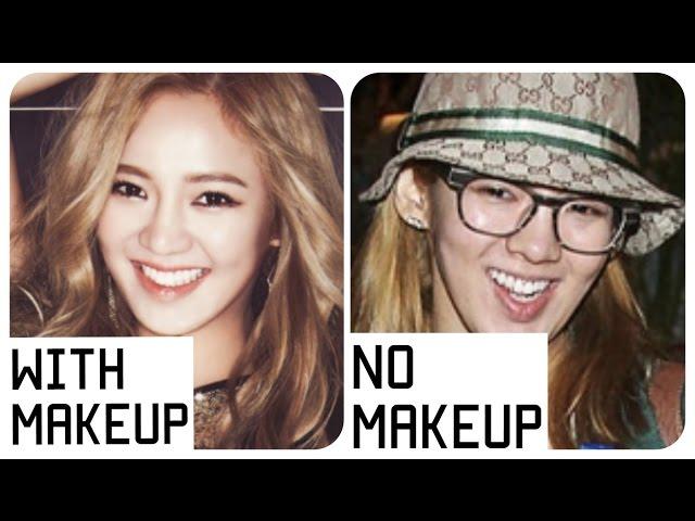 SNSD No Makeup Ranking (NEW) HD